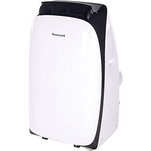 Honeywell HL09CESWK Portable Air Conditioner, 9,000 BTU Cooling, with Dehumidifier & Fan (Black/white)