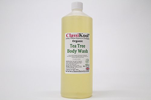 Classikool Organic Moisturising Shower Face & Body Wash Base with Tea Tree Oil [*Free UK Post] (1000ml)