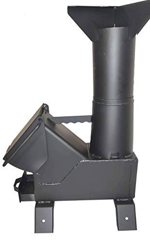 SHTFandGO Bullet Proof 50BMG Rocket Stove Tent Heater