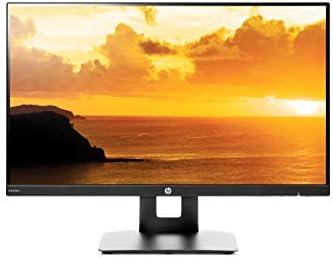 HP 23.8-inch FHD IPS Monitor de 23,8 pulgadas FHD IPS con inclinación/ajuste de altura y altavoces integrados (VH240a, negro)