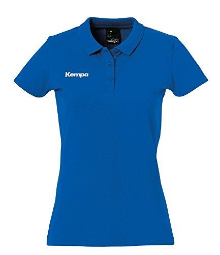 FanSport24 Kempa Handball Poloshirt Frauen dunkelblau Größe S