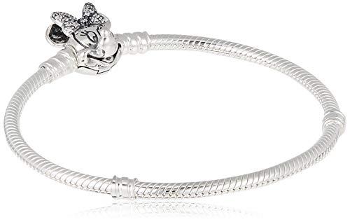 Pandora Mujer plata Pulsera charm 597770CZ-18