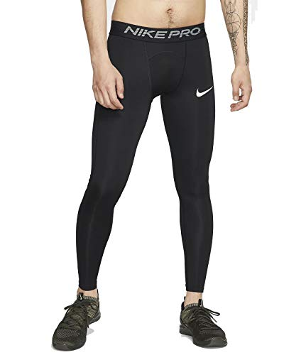 NIKE M NP Tght Pantalones de Deporte, Hombre, Black/(White), 2XL