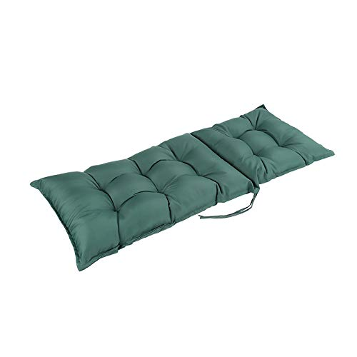 WZLJW Chair Cushion,Bench Cushions Armchair Cushion Soft Durable Garden Seat Cushions With Secure Ties To Fix To Chair