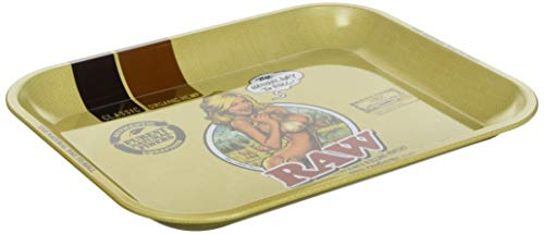 Imagen del productoBandeja de Liar Rolling Tray RAW Large RAW GIRL (340x275mm)