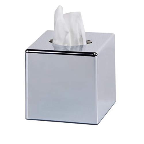 profesional ranking Tapa de la caja de servilletas Yiyu Face, servilletero de papel cromado, servilletero … elección