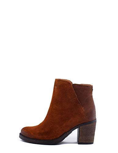 122461 SALSA Botin Camel Tacon 40 marrón