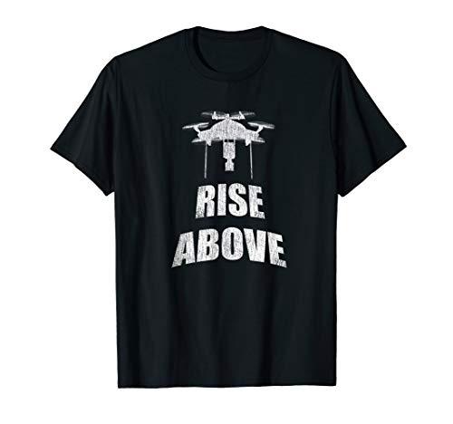 Drone Hexacopter Multirotor Rotorcraft Racing Pilot T-Shirt