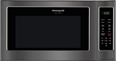 Frigidaire Gallery Series 2 cu. ft. Capacity Countertop Microwave with 1200 Cooking Watts, Quick Cook, Sensor Cook, One-Touch Options, Effortless Reheat in Black Stainless Steel