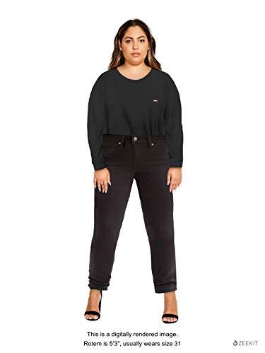 Levi's Women's 721 High Rise Skinny Jeans,  Soft Black,  28 (US 6) R