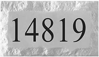 slate address signs