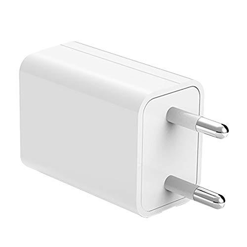 Lächen Netzteil Ultra Slim Ladegeraet USB Ladegerät, Adapter für elektrische Zahnbürste,Handy, Tablet, eBook Reader, Smartphone, Mp3, Bluetooth Geräte 1000 mA, 100-240V, Weiß