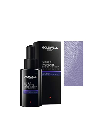 Goldwell Pure Pigments Haarfarbe, cool violet, 50 ml
