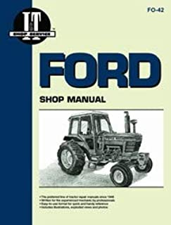Ford 6610 Tractor Service Manual (IT Shop)