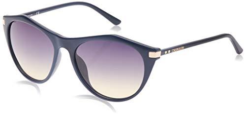 Calvin Klein CK18536S Injected Sonnenbrille Navy Unisex Erwachsene Mehrfarbig, Standard