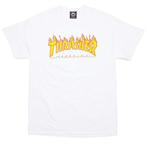 THRASHER Flame Camiseta Hombre