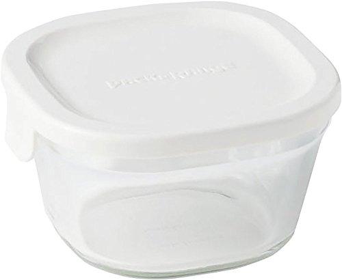 イワキ 保存容器 パック&レンジ 浅型 SS プチ 200ml ホワイト 冷凍 オーブン レンジ 可能