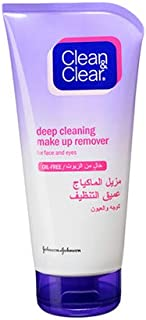 Clean & Clear Deep Cleaning Make Up Remover, 150 ml, Pack of 1