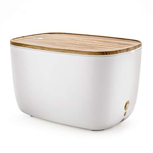 CZZJH Humidificador De Aromaterapia Humidificador Doméstico Aceite Esencial Humidificador De Máquina De Aromaterapia De Grano De Madera