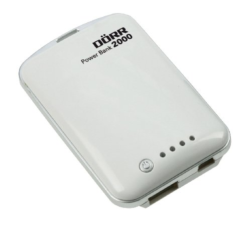 Dörr Power Bank Lithium-Polymer-Akku (2000mAh) mit USB