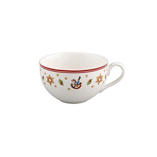 Villeroy & Boch Toy\'s Delight Tasse, 200 ml, Premium Porzellan, Weiß/Rot
