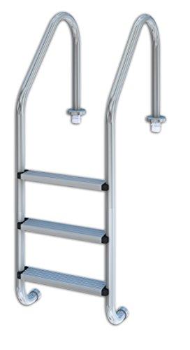 Productos QP 509082 - Escalera estándar, 3 peldaños