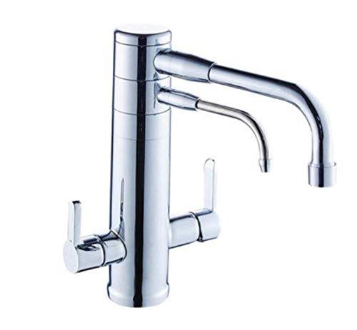 ZLININ Y-longhair cuadrado Innovationfaucet filtro purificador de agua caliente y fría cuerpo de cobre grifo fregadero grifo