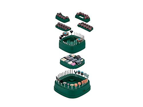Parkside Drill Accessory Set PDZ 276 A2 for Wood Plastic and Metal Multifunctional Tool Rotary Tool Accessories Set Sanding Set Polishing Set Fine Drill Bit Set