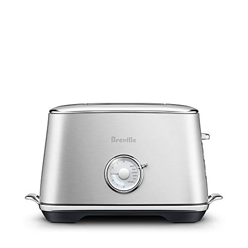 Breville BTA735BSS Toast Select Luxe 2-slice Toaster, Brushed Stainless Steel