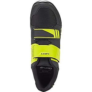 Giro Berm Mens Mountain Cycling Shoe − 43, Black/Citron Green (2020)