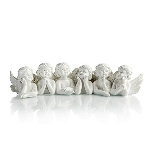 Piquaboo 6 Angels Mantel Ornament Memorial Decoration