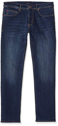 MAC Jeans Herren Arne Jeans, Blau (Dark Blue Light Used H618), W33/L34 (Herstellergröße: 33/34)
