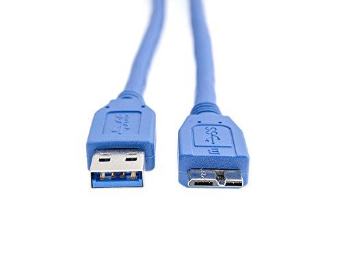 KnnX 28100   USB 3.0   A-Stecker auf Micro-B-Kabel   Länge: 0,50M   Lade, Synchronisierungs und Datenübertragungskabel