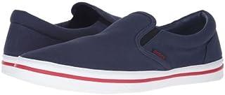 [クロックス] メンズ 男性用 シューズ 靴 スニーカー 運動靴 Norlin Slip-On - Navy/White [並行輸入品]