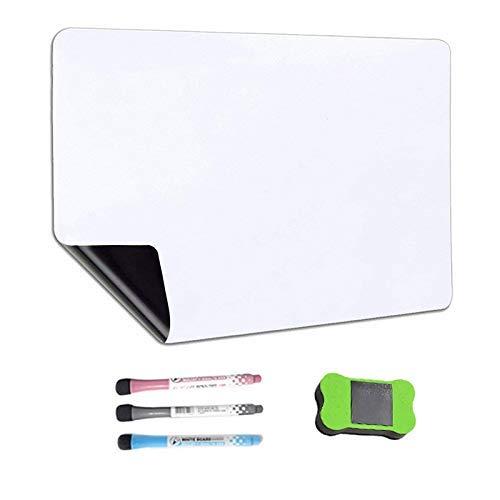 XiaoDong1 Calendario de Pizarra magnética de borrado en seco para refrigerador con...