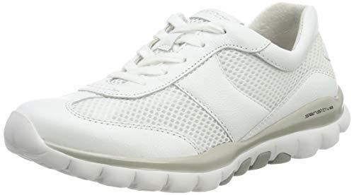 Gabor Shoes Damen Rollingsoft Sneaker, Weiß (Weiss 50), 42.5 EU