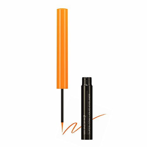 Wunder2 SUPER-STAY L Flüssiger Eyeliner , Orange Pop