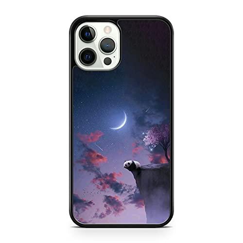 Mountain Top Panda Bear Animal Starry Latky Way Compatibile con Sky Scenery Phone Cover (modello di telefono: compatibile con Samsung Galaxy J5 (2017))