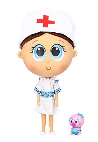 Distroller Nurse Tania Doll with a Nerlie Neonate Ksimerito - Enfermera Tania Spanish Limited Edition