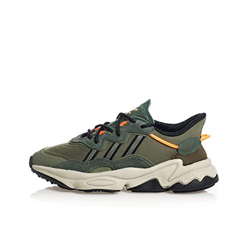 adidas Ozweego J,  Zapatillas Deportivas,  Green Oxide Core Black Wild Pine,  38 2/3 EU