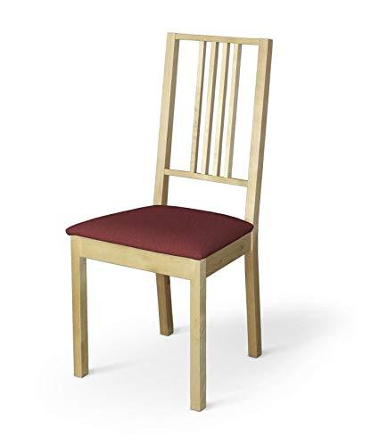Dekoria Börje Sitzbezug Stuhlbezug Stuhlkissen passend für IKEA Modell Börjel Bordeaux