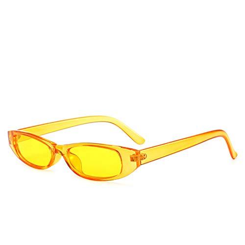 HYUHYU Retro Rectangle Sunglasses Mujeres Diseñador De La Marca Pequeño Negro Blanco Marco Vintage Moda Gafas De Sol