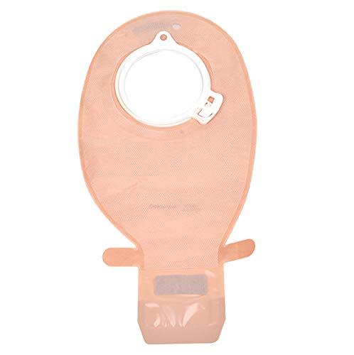 Eight Horses-S Suministros de colostomía para ostomía de 60 mm Bolsa Premium de 1 Pieza Bolsa para ostomía Bolsa para colostomía Sistema de una Pieza (Caja de 10)