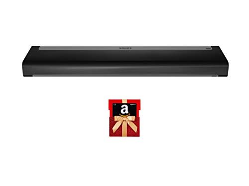 Sonos Playbar - The Mountable Sound Bar for TV, Movies, Music, and More - Black with 30$ Amazon.com Gift Card in a Red Gift Box Reveal