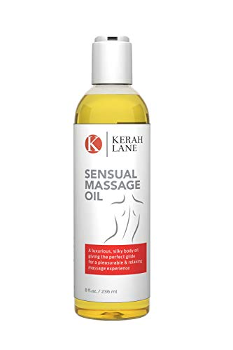 good massage oils Sensual Massage Oil: Best for Couples Erotic & Body Massage Therapy - Natural Relaxing Aphrodisiac & Aromatherapy w/Lavender and Bergamot Essential Oils - USA Made