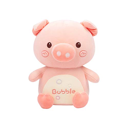 AniYY Peluche de cerdo muñeca cojín Piggy Bolster dibujos animados abrazando almohada de peluche regalos de juguete
