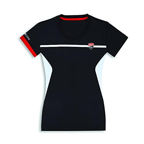 Ducati Corse DC Power T-shirt pour femme Noir Taille S