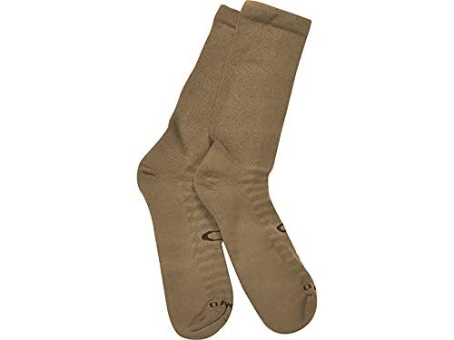 Oakley Men's Boot Socks Polyester/Drymax Olefin Coyote Medium (6-8) 1 Pair