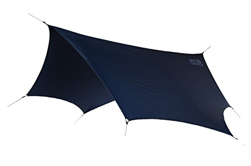 ENO, Eagles Nest Outfitters DryFly Rain Tarp, Ultralight Hammock Accessory, Navy