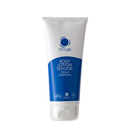 OZOLABS® | Crema Corporal con los beneficios de los aceites orgánicos ozonizados | Activa la producción de elastina y colágeno | Sello EcoPlus | ISO 9001 | 200 ml
